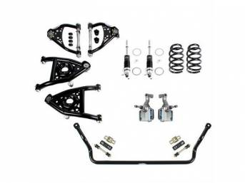 SPEED KIT, Front Suspension, Level 2 w/ base