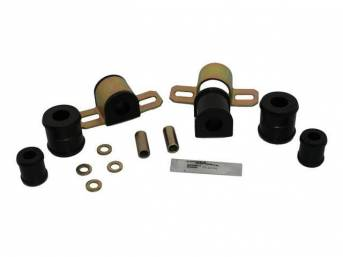 MOUNTING KIT, Sway Bar, Black Graphite Polyurethane, Energy Suspension, For Use W/ 13/16 Inch Bar and 1 Bolt Lower Clamp