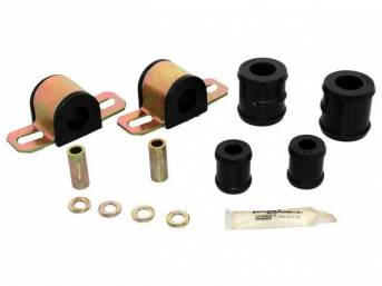 MOUNTING KIT, Sway Bar, Black Graphite Polyurethane, Energy Suspension, For Use W/ 15/16 Inch Bar and 1 Bolt Lower Clamp