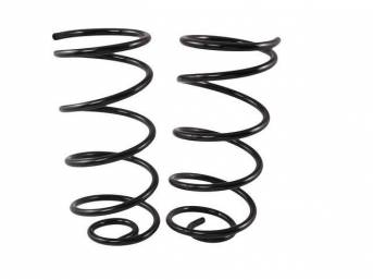COIL SPRING SET, Rear, Replacement Style Repro