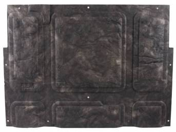 Molded Hood Insulation Pad, OE-style repro