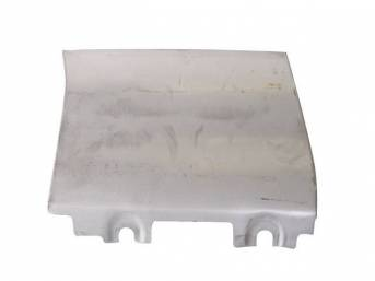 REPAIR PANEL, Lower Fender, Rear, LH, 14 Inches High, 20 gauge steel, does not incl inner brace, Repro