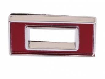 Emblem, Fender / Hood, *0*, 5/8 inch tall