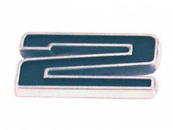 Emblem, Fender / Hood, *2*, 5/8 inch tall