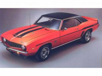 STRIPE AND DECAL KIT, *Yenko*, White, incl *SYC*
