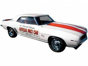 DOOR DECAL KIT, Indy Pace Car, Incl 2