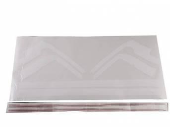 STENCIL / STRIPE KIT, *SS Hockey Stick*, Red,
