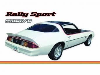 STRIPE KIT, Rally Sport, Orange / Dark Red / Gold, 16-piece kit, Repro