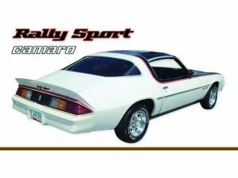 STRIPE KIT, Rally Sport, Med / Dark Brown / Apricot, 16-piece kit, Repro