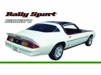 STRIPE KIT, Rally Sport, Med / Dark / Lt. Green, 16-piece kit, Repro