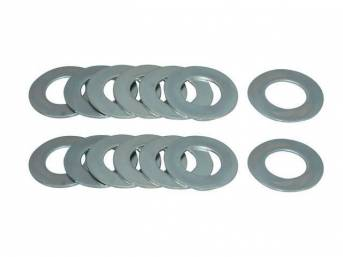 MOUNTING HOLE REPAIR KIT, Frame to Body, (14)