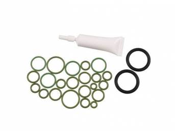 O-RING KIT, A/C Refrigerant, Kit incl an assortment