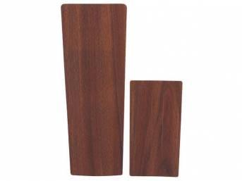 APPLIQUE / INSERT KIT, Console, vinyl wood grain