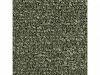 Carpet Raylon Loop Style Two Piece Medium Green