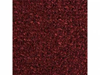 Carpet Raylon Loop Style Two Piece Maroon