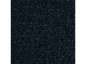 CARPET, Molded, Raylon (Loop Style), 2-piece, Dark Blue,