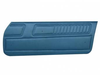 PANEL SET, Inside Door, Standard Interior, Bright Blue