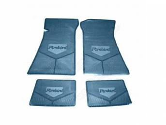 FLOOR MAT SET, Rubber Custom Logo, features the