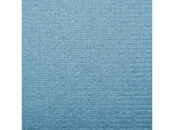 HEADLINER, Cloth W/ Foam Backing, Light Blue, Repro