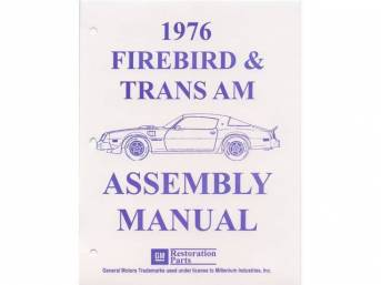 BOOK, Factory Assy Manual, contains illustrations and diagrams