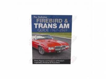 Book, Definitive Firebird and Trans Am Guide, By