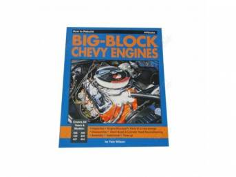 BOOK, HOW TO REBUILD BIG BLOCK CHEVY ENGINES,