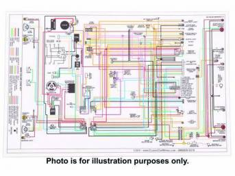 1964 1987 Chevelle Restoration Wiring Diagrams Parts National Parts Depot