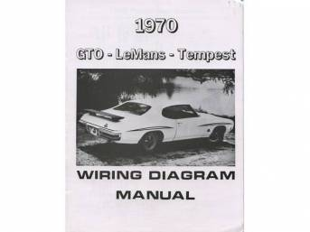 1964 1972 Gto Restoration Wiring Diagrams Parts National Parts Depot