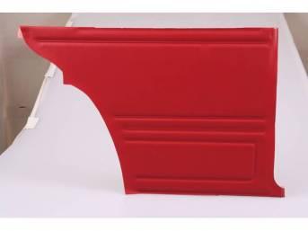 Panel Set, Inside Quarter, Std, Red, *Gold Edition*