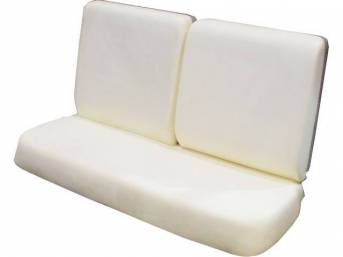 Molded Bench Seat Foam, restoration quality reproduction