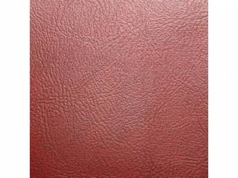 Sierra Grain Vinyl Yardage, Firethorn, 54 inch X 72 inch section, rolled