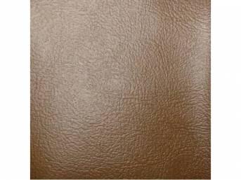 Sierra Grain Vinyl Yardage, Camel Tan, 54 inch X 72 inch section, rolled