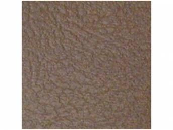 Madrid Grain Vinyl Yardage, Dark Saddle, 54 inch X 72 inch section, rolled