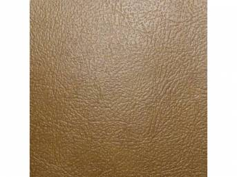 Sierra Grain Vinyl Yardage, Buckskin / Saddle, 54 inch X 72 inch section, rolled
