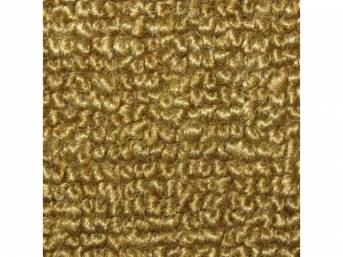 CARPET, Raylon Weave, nugget gold, w/o toe pad