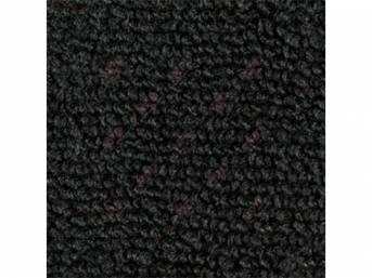 CARPET, Raylon Weave, black