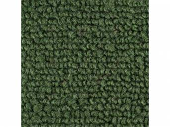 CARPET, Raylon Weave, medium green, mass backed This