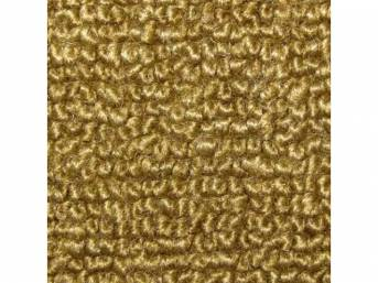 Carpet Raylon Loop Style Two Piece Gold M/T