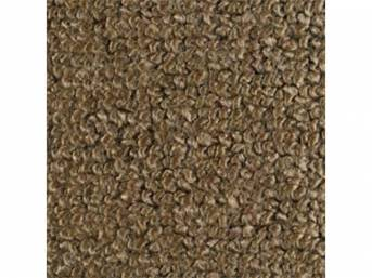Carpet Raylon Loop Style Two Piece Medium Saddle