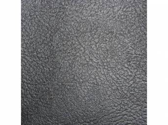 Trim Panel Rear Seat Black Pui Madrid Grain