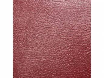 Trim Panel Rear Seat Red Pui Madrid Grain