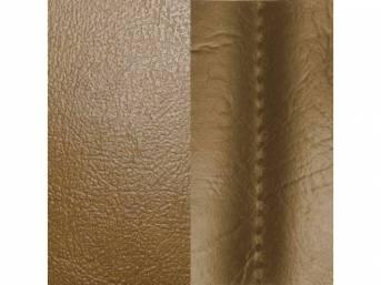 Upholstery Set Rear Seat Saddle Sierra Grain Vinyl