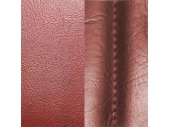 Upholstery Set Rear Seat Firethorn Sierra Grain Vinyl