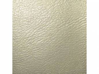 Upholstery Set, Rear Seat, Pearl, madrid grain vinyl