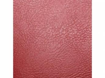 Upholstery Set, Rear Seat, Red, madrid grain vinyl