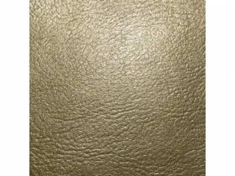Upholstery Set, Rear Seat, Gold, madrid grain vinyl