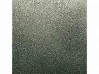 Upholstery Set, Rear Seat, Dark Green Metallic, madrid grain vinyl
