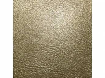 Upholstery Set Rear Seat Gold Madrid Grain Vinyl