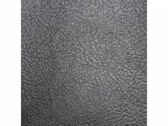Upholstery Set Rear Seat Black Madrid Grain Vinyl