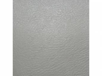 Upholstery Set Rear Seat White Madrid Grain Vinyl